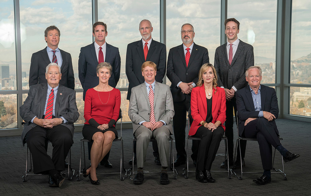 University of Utah 2017 Board of Trustees